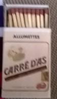Carré D'as - Boites D'allumettes