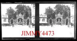 Plaque De Verre Stéréo - Place Stanislas Bien Animée Vers 1900 - NANCY 54 Meurthe Et Moselle  Grande Taille 178 X 88 Mll - Plaques De Verre