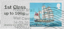GB 2018 Mail By Sea Post And Go 1st Type 1 Code 004552 Used [32/165/D] - Great Britain