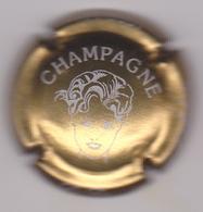 Capsule Champagne FEE D'ARLETTE ( 7b ; Or Foncé Et Blanc ) 5€ {S03-19} - Champagne
