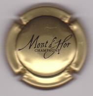 Capsule Champagne MONT D'HOR ( 10c ; Or Et Noir ) {S03-19} - Champagne