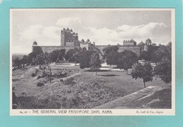 Small Post Card Of Fatehpore Sikri,Agra,Uttar Pradesh, India,Y75. - India