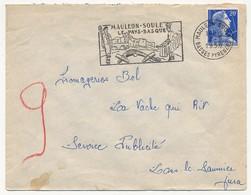 Enveloppe - OMEC Secap - MAULEON-SOULE Le Pays Basque - (Basses Pyrénées) 1958 - Postmark Collection (Covers)
