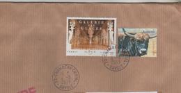 LETTRE ENTIERE DE 2013 - CACHETS MANUELS CHAMBERY CURIAL SAVOIE - GALERIE DES GLACES VERSAILLES ET AUROCHS - A VOIR - France