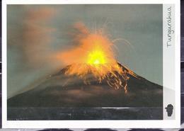 ECUADOR 2012 POSTAL STATIONARY TUNGURAHUA VOLCANO IN ERUPTION MNH - Equateur