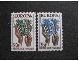 TB Paire N° 1122 Et N° 1123, Neufs XX. - France