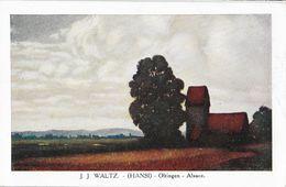 Illustration J.J. Waltz (Hansi) - Oltingen, Alsace - Edition P.J. Gallais Et Cie, Carte N° 176 Non Circulée - Hansi