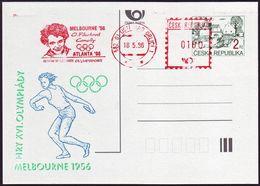 Czech Republic - 1996 G - Olympic Winner - Card - Ete 1956: Melbourne
