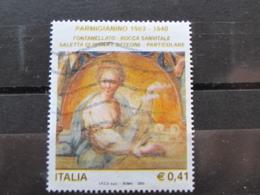 *ITALIA* USATI 2003 - 5° FRANCESCO MAZZOLA PARMIGIANINO - SASSONE 2699 - LUSSO/FIOR DI STAMPA - 6. 1946-.. Repubblica
