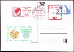 Czech Republic - 1996 L - Olympic Games 1956 - Card - Ete 1956: Melbourne