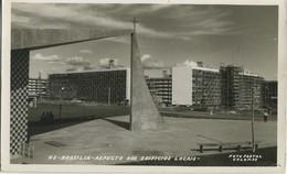 CPA Brasil Brazil Brasilia Aspecto Dos Edificios Locais Fotografia Ed. Foto Postal Colombo - Brasilia