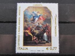 *ITALIA* USATI 2003 - 3° CENTENARIO CORRADO GIAQUINTO - SASSONE 2697 - LUSSO/FIOR DI STAMPA - 6. 1946-.. Repubblica