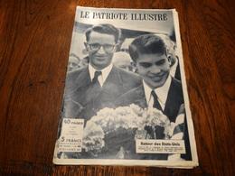 Le Patriote Illustré N°43 Du 27/10/1957.Expo 58:chronique,marine Et Marins Soviétiques,une Collision Dans La Man. - General Issues