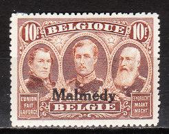 OC78*  Timbre De 1915 Surchargé MALMEDY - Bonne Valeur - MH* - LOOK!!!! - Guerre 14-18