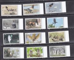 Cook 2018 Birds Of Prey Falcons Owls Set Of 12v MNH - Owls