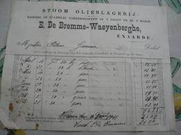 Eksaarde Stoom Olieslagerij De Bremme 1910 - Belgique