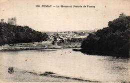 FUMAY-08- LA MEUSE ET L'ENTREE DE FUMAY - Fumay