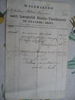 Eksaarde Briel 1914 Wagemakerij - Belgique