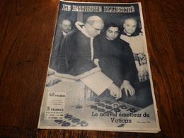 Le Patriote Illustré N°44 Du 03/11/1957.Expo 58:chronique,les Réfugiés Hongrois En Belgique,le Reflux......Stalingrad. - General Issues