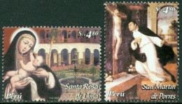 PERU 2004 TRAINS** (MNH) - Pérou