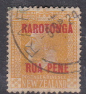 Cook Islands  SG 58 1919 2d Yellow Used - Cook