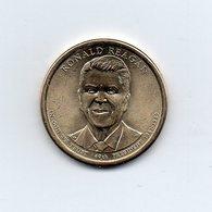 Stati Uniti - 2016 - 1 Dollaro - Ronald Reagan - (40° Presidente 1981 -1989) - Vedi Foto - (MW1977) - Emissioni Federali