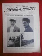 L AVIATION ILLUSTREE AVIATEUR LOUIS GILBERT ROLAND GARROS PARIS MADRID ROME TURIN 1911 N° 72 - Books, Magazines, Comics