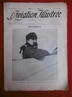 L AVIATION ILLUSTREE AVIATEUR  DE BEAUMONT GAGNANT DU RAID PARIS ROME 1911 N° 73 - Books, Magazines, Comics