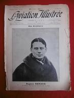 L AVIATION ILLUSTREE AVIATEUR EUGENE RENAUX VAINQUEUR RAID PARIS PUY DE DOME 1911 N° 67 - Books, Magazines, Comics