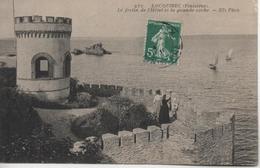 LOCQUIREC  LE FORTIN DE L'HOTEL ET LA GRANDE ROCHE - Locquirec