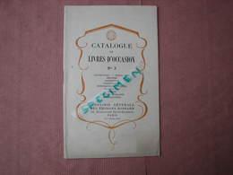 Catalogue De Livres D'occasion N°3 1927 31 Pages 13X21,5 Imp. Bussière ST Amand TBE - France