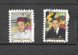 Série Courante Sa Majesté Le Roi Mohamed.VI. Phil@poste Millésime 2004. N°1364 Et 1365 Chez YT. (Voir Commentaires) - Maroc (1956-...)
