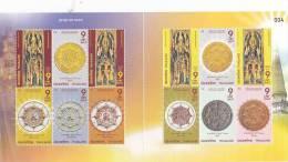 Thailand 2008 Chatukham Rammathep Amulet Sheetlet MNH - Thaïlande