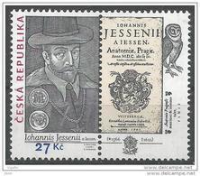 2016 Jan Jessenius Philosophe Médecin Anatomiste ( 1 ère Autopsie En Europe Centrale ) Exécuté En 1621 - Tchéquie