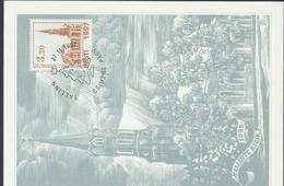 57-924 Estonia FDC Postcard Tallinn Halliste Church 27.11.1997 - Estonie