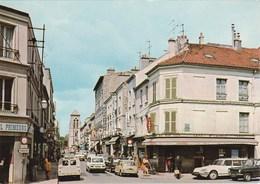 CRETEIL. Rue Du Général Leclerc. Voitures: Citroën DS Break - 2 Chevaux Camionnette - Creteil