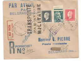12798 - TRANSORT PAR AVION MILITAIRE - Poste Aérienne