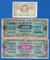 France 3 Billets Dans L'etat - Trésor