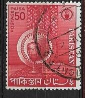 PAKISTAN   1962 Small Industries USED  Inlaid Cigarette Case. Red - Sammlungen (im Alben)