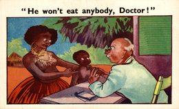 HE WON'T EAT ANYBODY - Humor