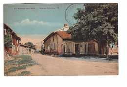 51 La Grange Aux Bois Rue Du Calvaire Sainte Menehould Cpa Carte Edit Wayere - Sainte-Menehould