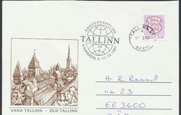 57-932 Estonia Tallinnn Letter Week 11.10.1997 From Post Arrival Postmark - Estonie