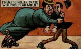 I'D LIKE TO ROLLER SKATE - Humor