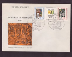 DDR - 3 9 1964 FDC LEIPZIGER HERBSTRSMESSE - FDC: Enveloppes