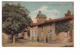 51 La Grange Aux Bois La Place Sainte Menehould Cpa Carte Animée Edit Wayere - Sainte-Menehould