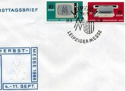 DDR -29 8 1966 FDC LEIPZIGER HERBSTRSMESSE - FDC: Enveloppes
