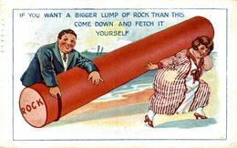 IF YOU WANT A BIGGER LUMP - Humor