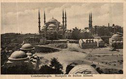 CONSTANTINOPLE MOSQUEE DE SULTAN AHMED - Turquie