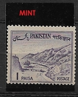 PAKISTAN   1962 Local Motives  **  Khyber Pass - Briefmarken