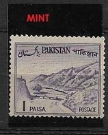 PAKISTAN   1962 Local Motives  **  Khyber Pass - Collections (en Albums)
